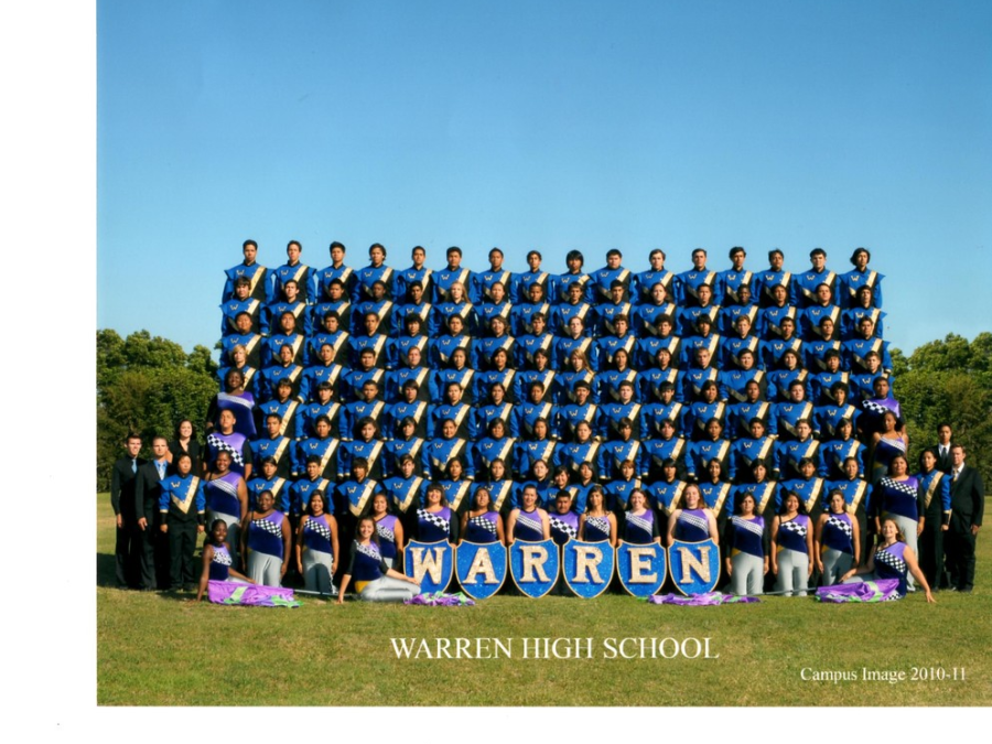 Warren High School Band & Color Guard - Marching Band